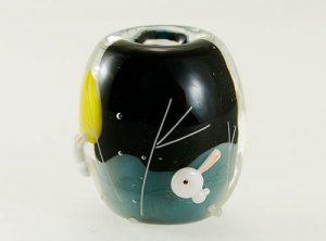 91-A58 石川幸 ウサギと薄