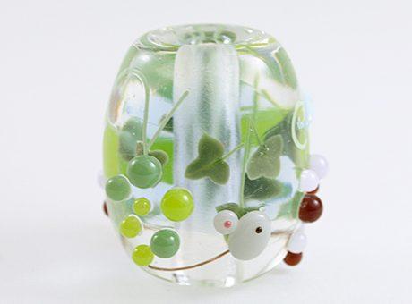 91-A78石川幸・ネズミと葡萄(ネオジウムガラス使用)1