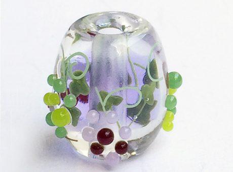 91-A78石川幸・ネズミと葡萄(ネオジウムガラス使用)2