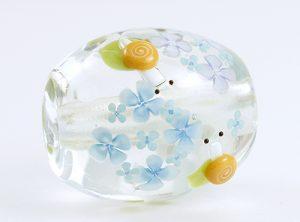 91-A87石川幸・カタツムリと四葩(青み)