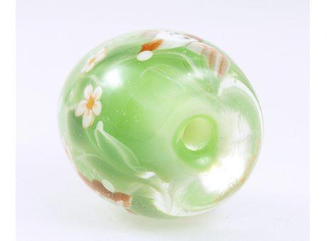 94186駒形遵・ふくら雀(緑)3