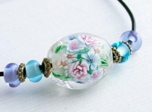 96086 清水みゆき (ネックレス)バラの花束