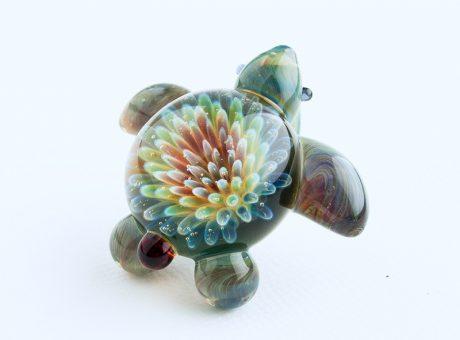 102060 北島知幸 海亀(ホヌ)深海の花1