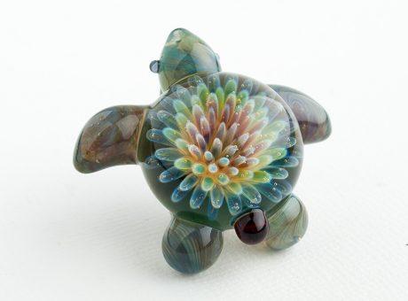 102060 北島知幸 海亀(ホヌ)深海の花