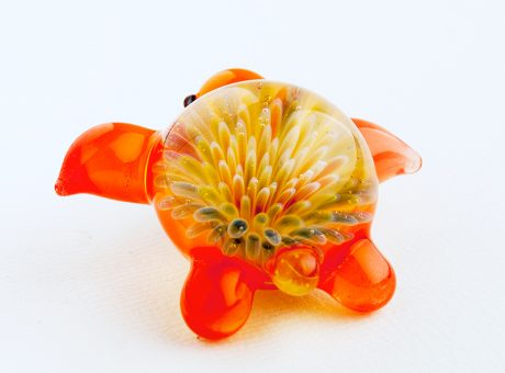102062 北島知幸 海亀(ホヌ)深海の花2