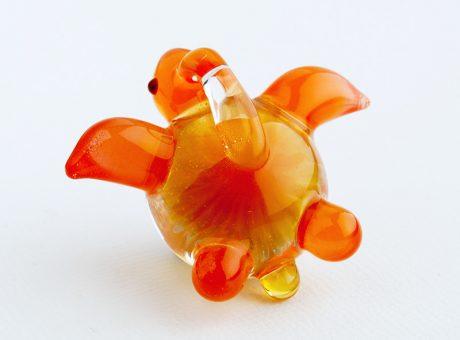 102062 北島知幸 海亀(ホヌ)深海の花3