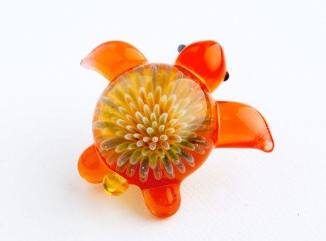 102062 北島知幸 海亀(ホヌ)深海の花