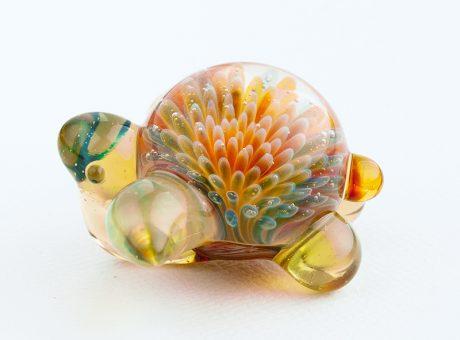 102064 北島知幸 海亀(ホヌ)深海の花1