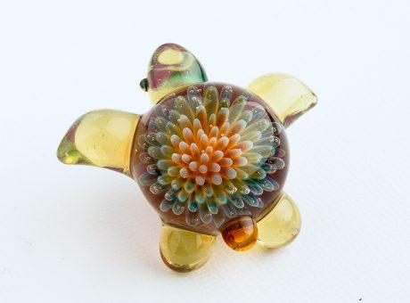 102064 北島知幸 海亀(ホヌ)深海の花